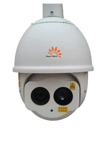 CMOS IP66 PTZ IP Camera Outdoor Megapixel Laser Infrared Surveillance