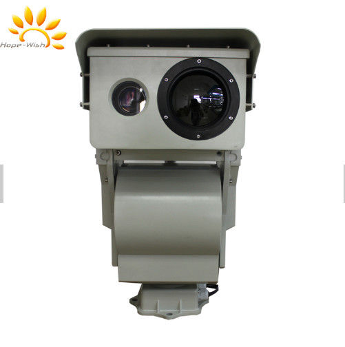 Oilfield Safety Dual Sensor Thermal Camera With IP Control Electronic System