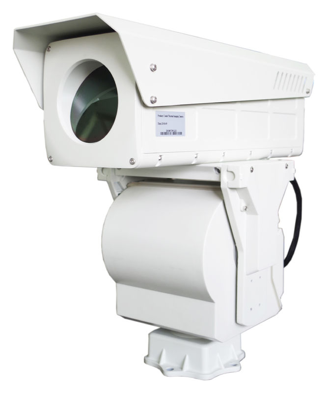 Mwir Cooled Thermal Imaging Camera 50km Long Range With Ptz Infrared Surveillance