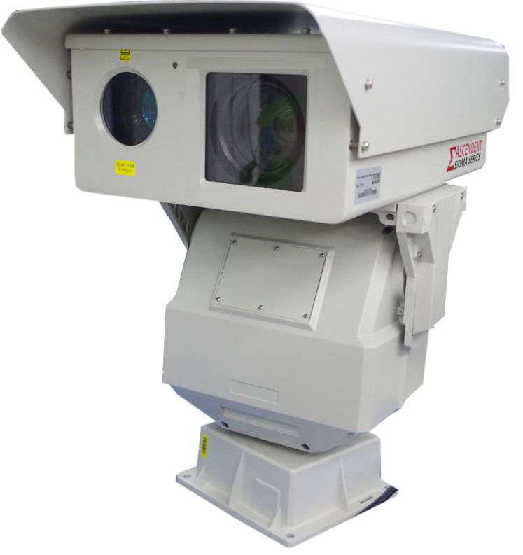 Security Long Range Infrared Camera With 808nm IR Illuminator For City Safety